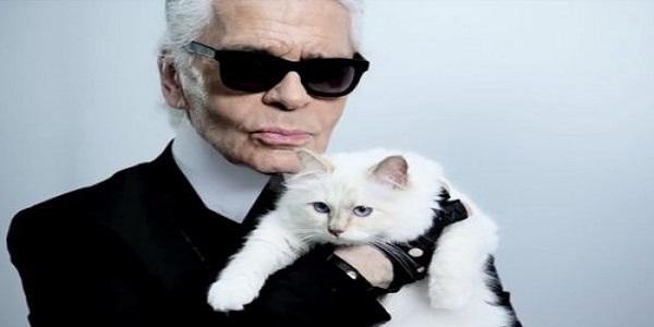 K. Lagerfeld e Choupette